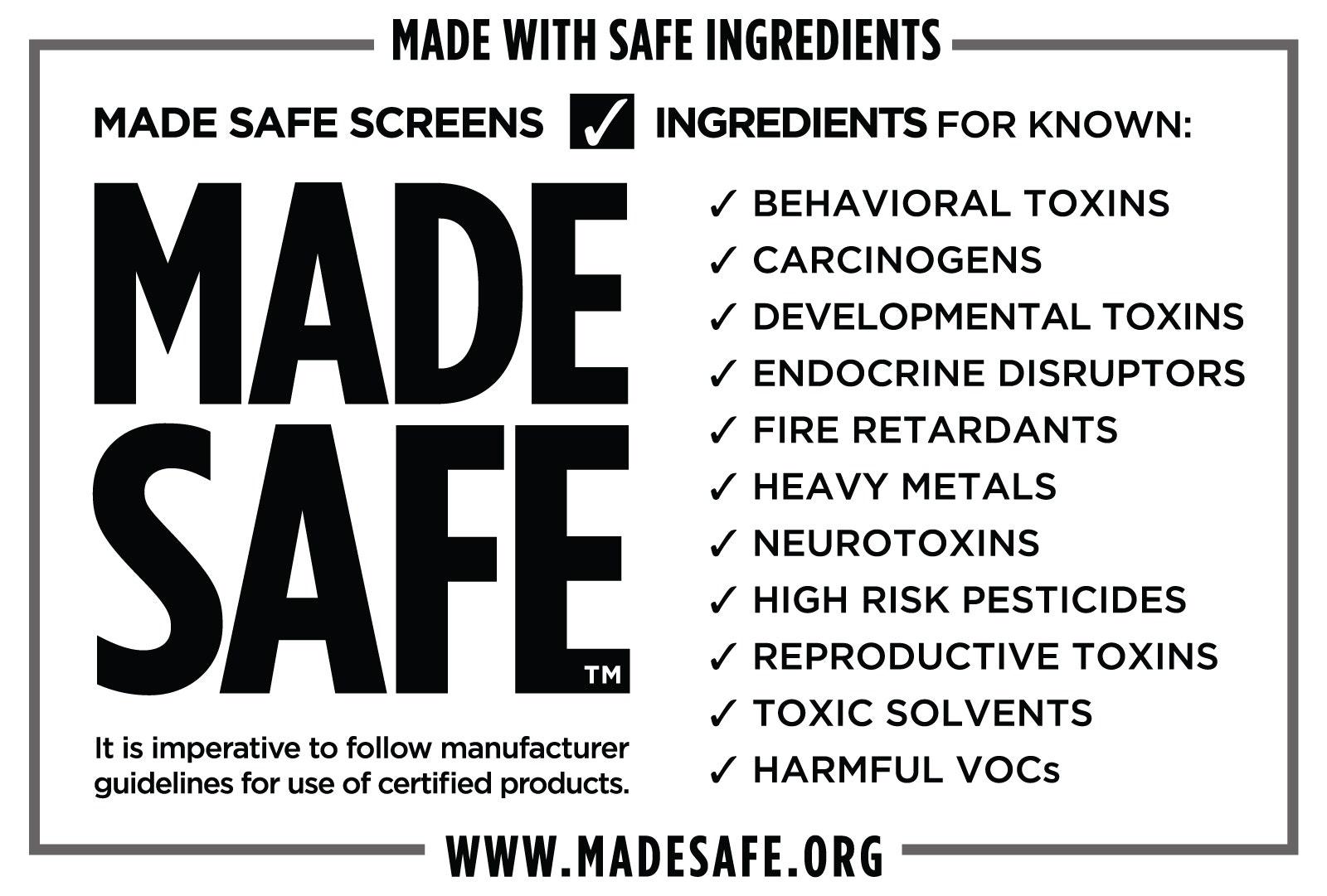 Made Safe Logo