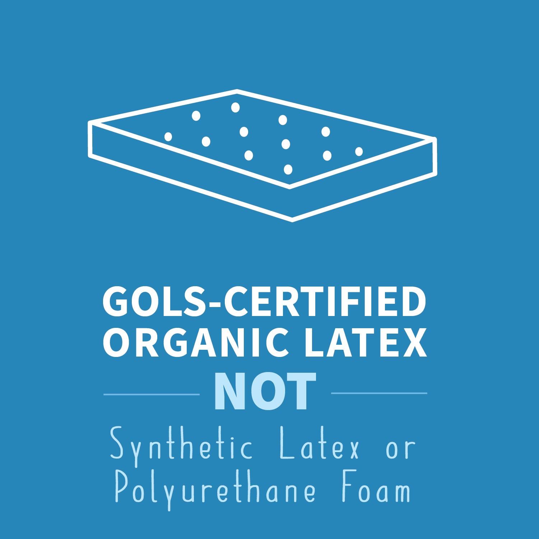 GOTS certified latex